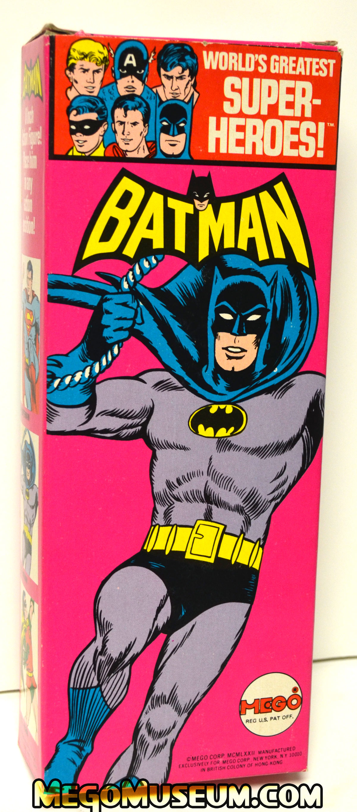 Mego Solid Boxed Batman from 1973