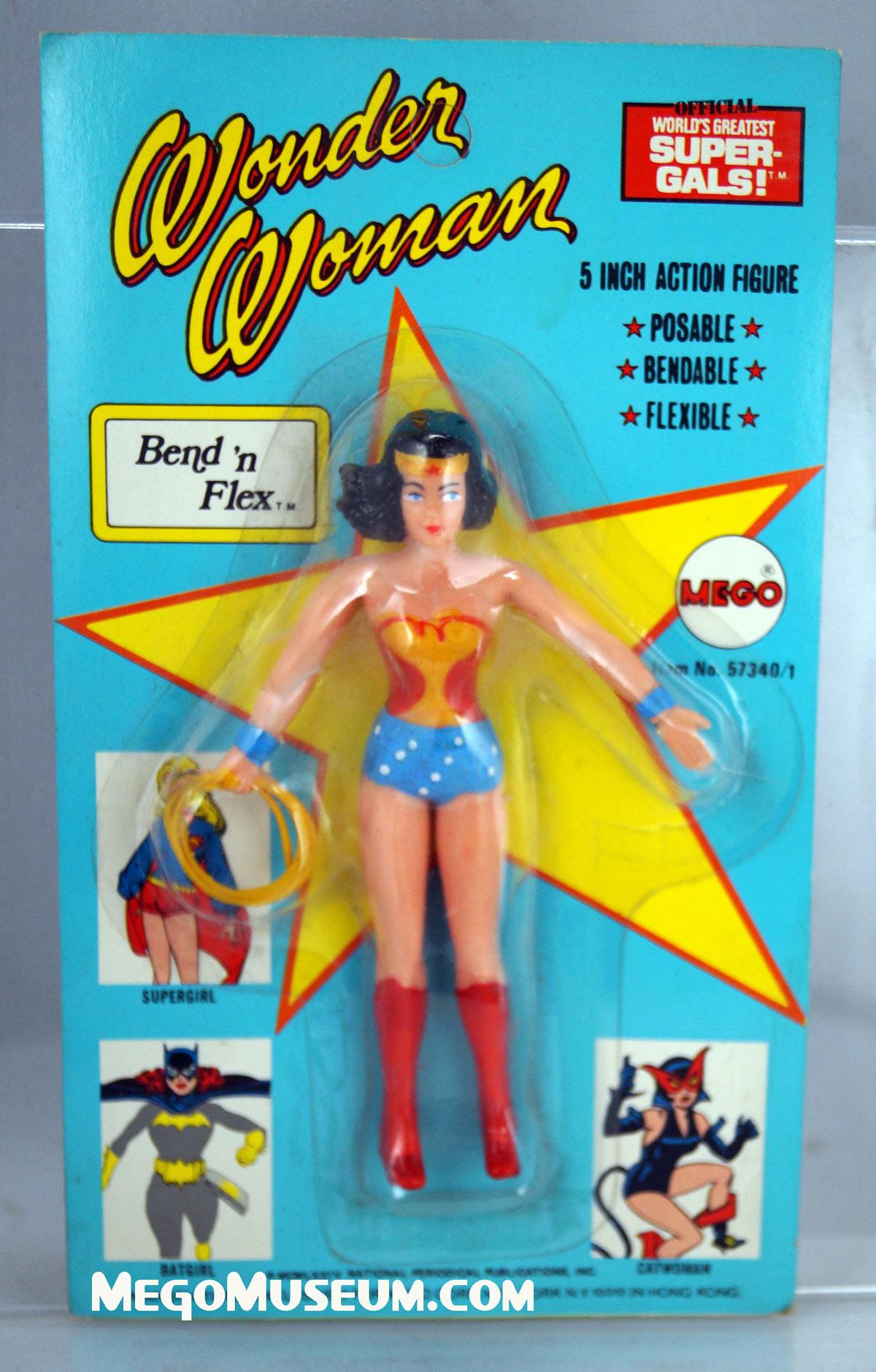 Mego Bend N Flex Wonder Woman