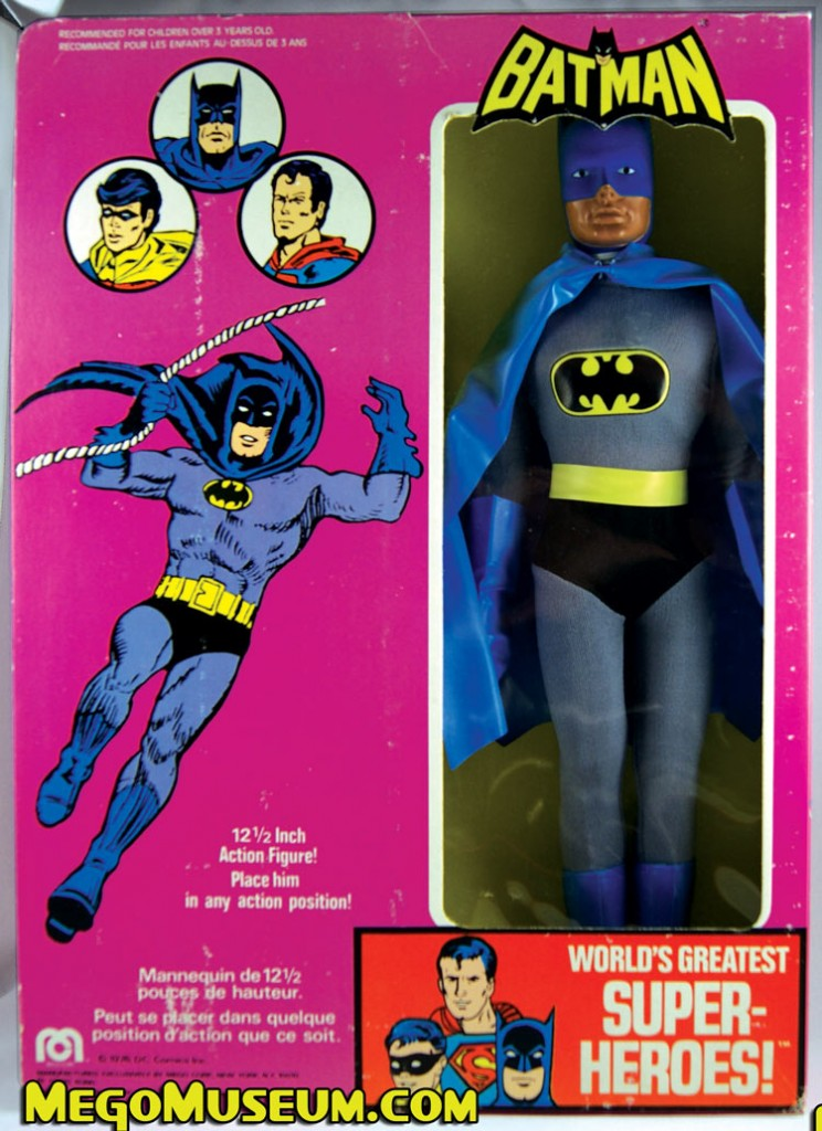 Mego 12 inch Batman in the Canadian Parkdale Novelty Box.