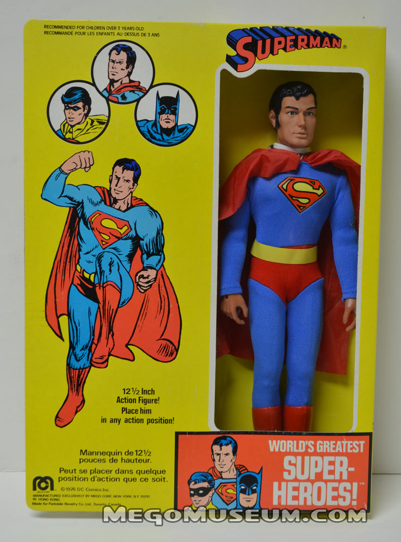 Parkdale Novelty 12 inch Superman in box