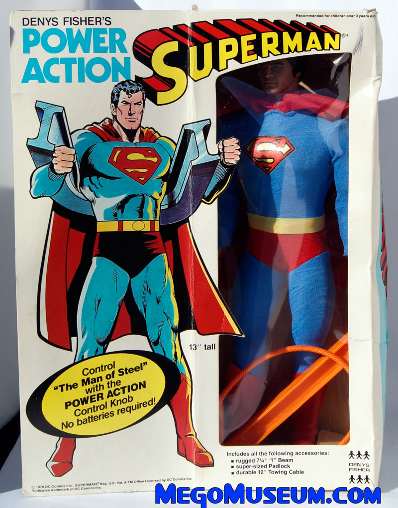 boxed Denys Fisher Superman