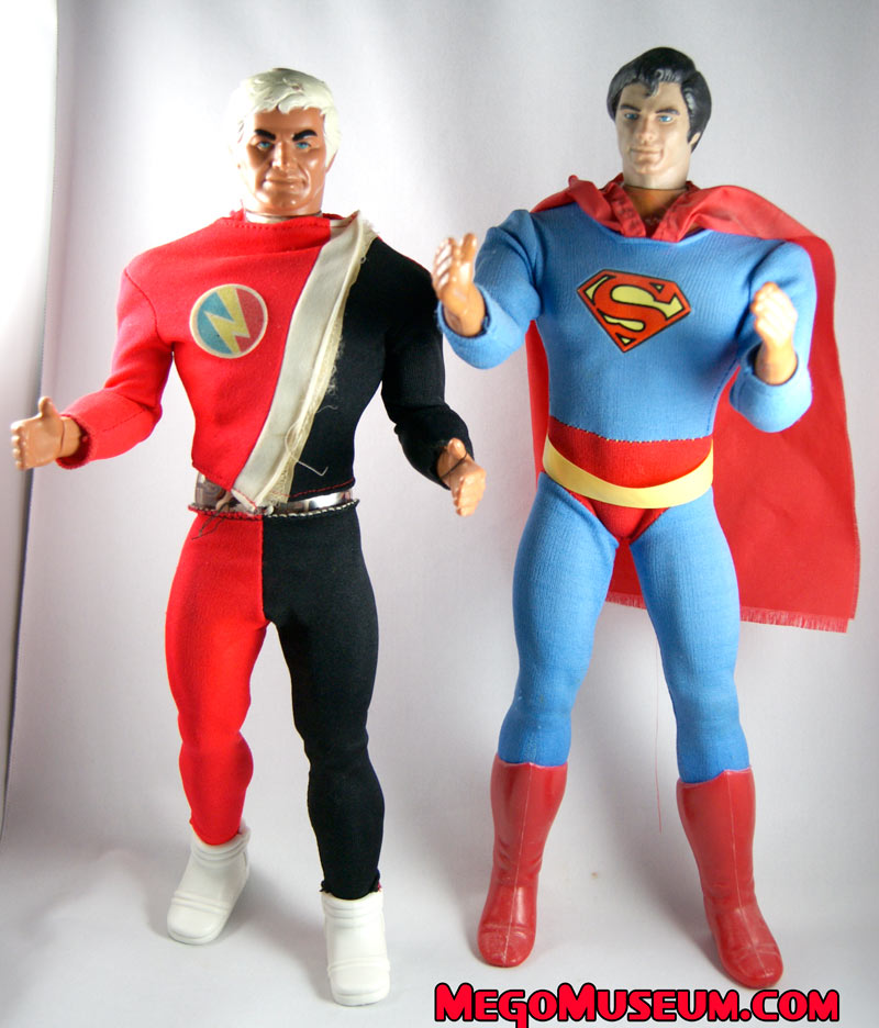 Denys Fisher Superman mego Museum
