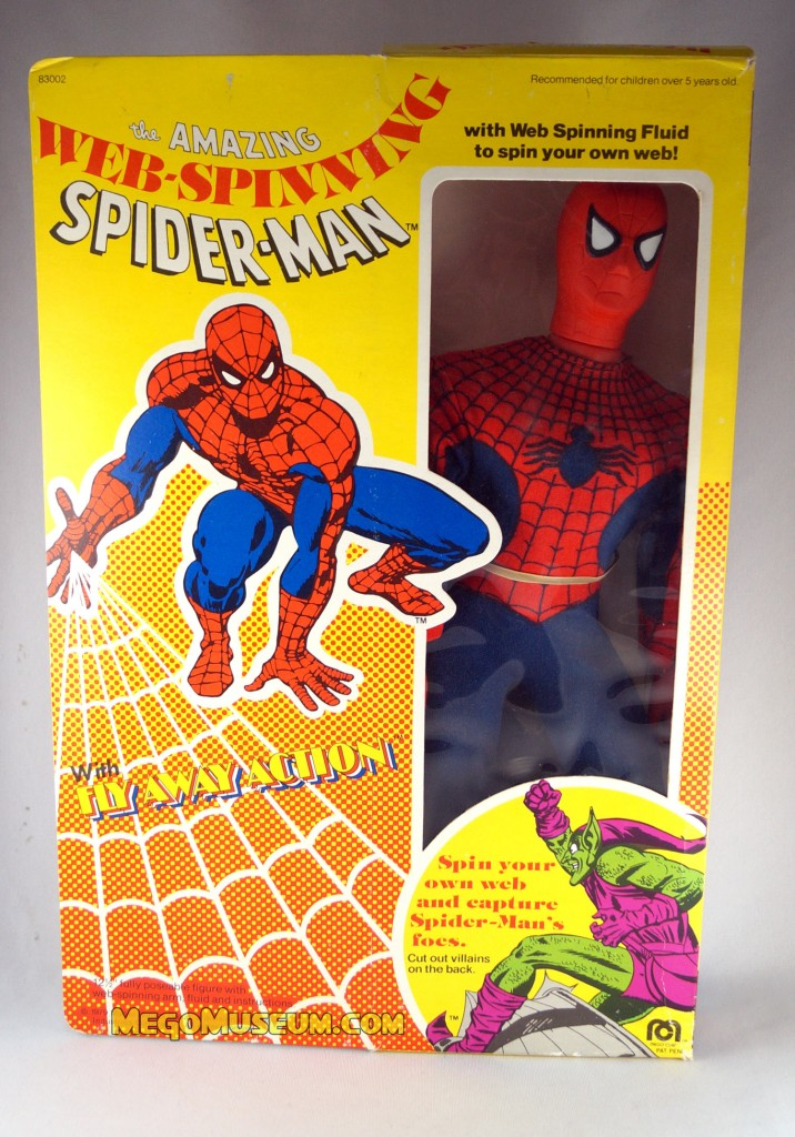 Mego Web Spinning Spiderman Mego Museum