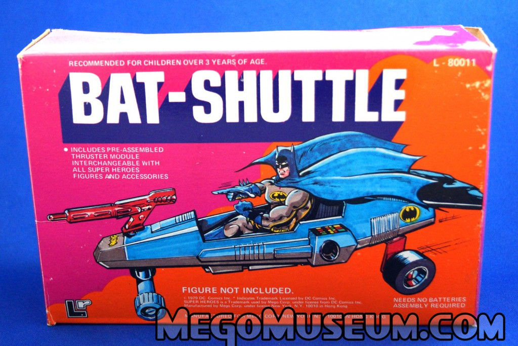 Mego Batman Bat Shuttle