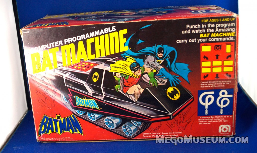 Mego Bat Machine from the Pocket Superheroes Line