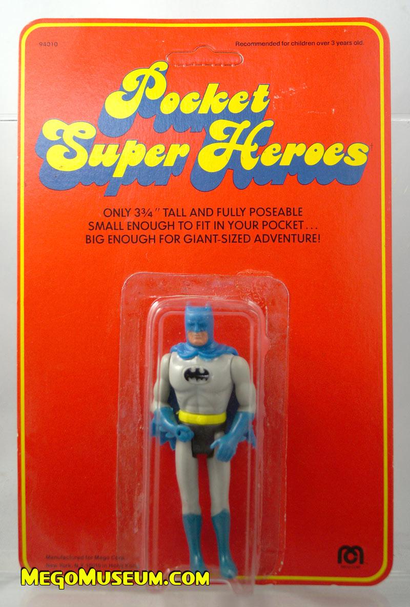 Mego Pocket Superheroes Red Card Batman