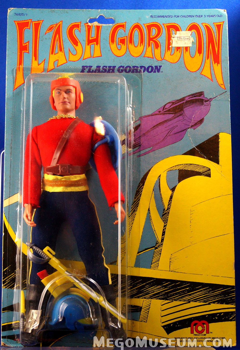 Mego Flash Gordon Mint on Card