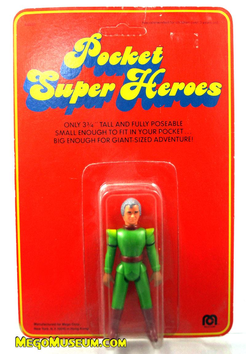 Mego Pocket Superheroes Red Card Jor El