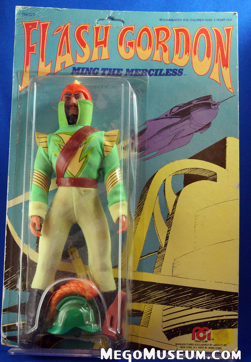 Carded Mego Ming the Merciliess from Flash Gordon