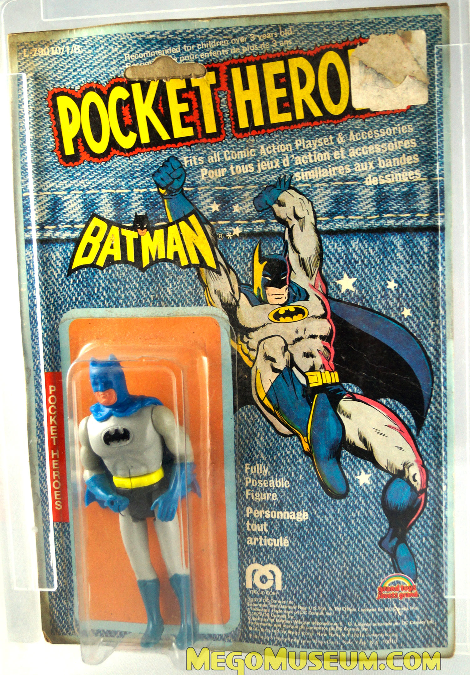 pocket heroes denim cards