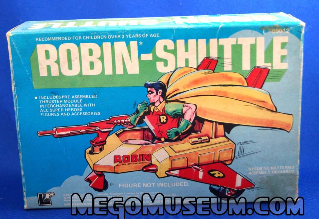 Mego robin Shuttle Pocket Heroes