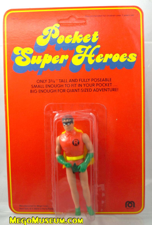 Mego Pocket Superheroes Red Card Robin