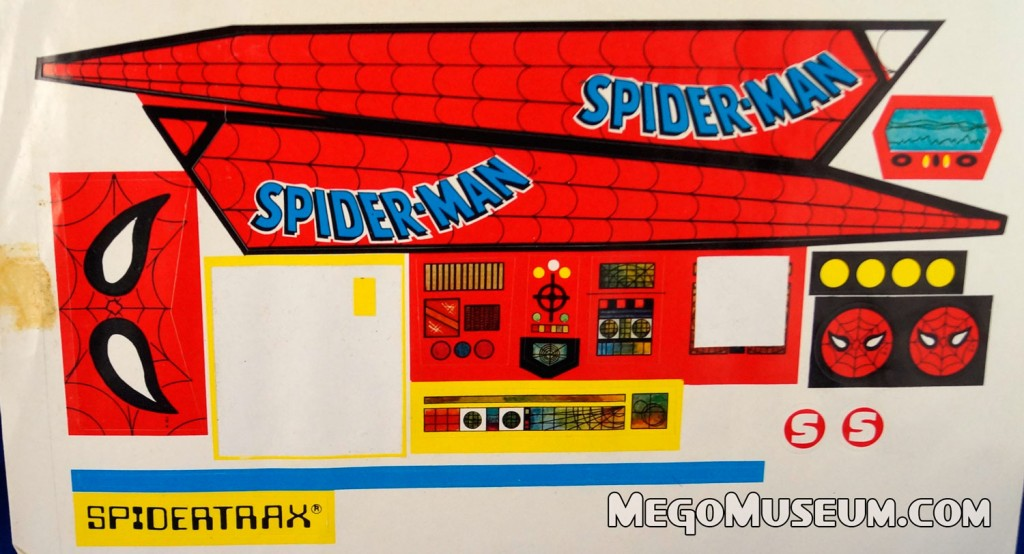 Mego Boxed Ensuano Spider-Trax Mexico  Mego Museum Spider-Man