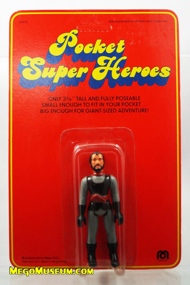 Mego Pocket Superheroes Red Card General Zod