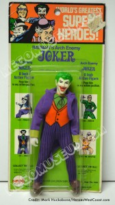 1974 Mego 1st Issue Joker MOC