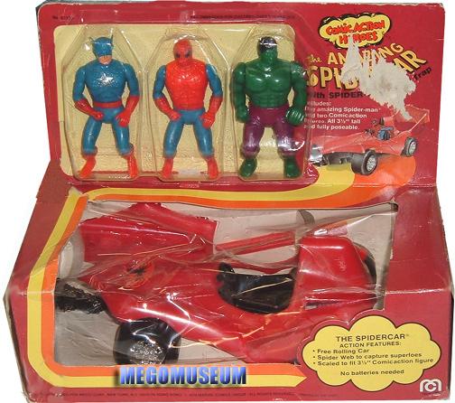 Mego Spider-car