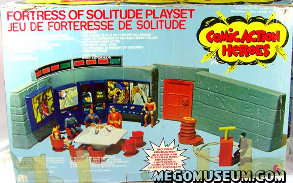 Mego Fortress of Solitude Box
