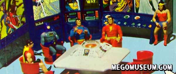 Mego Comic action heroes