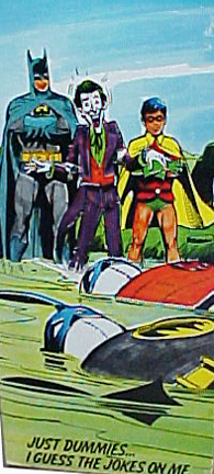 Comic Action Mego Batman and Joker