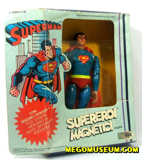Mego Magnetic Superman
