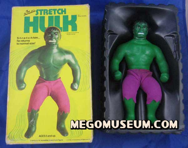Elastic Hulk by Mego, click here to visit the gallery