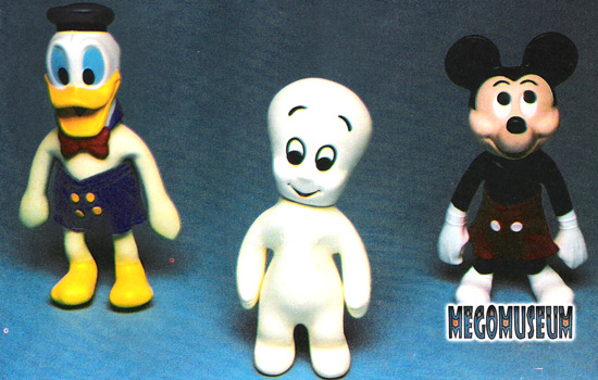 Mego Disney Stretch Dolls