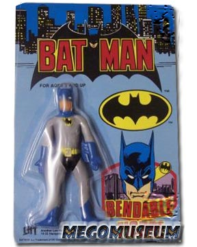 Austalian rerelease of the Mego Batman Bend N Flex Figure