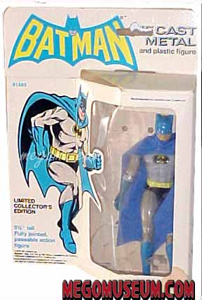 Boxed Mego Diecast batman