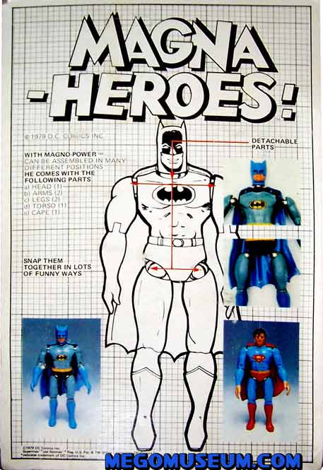 carded Mego Magnetic Batman