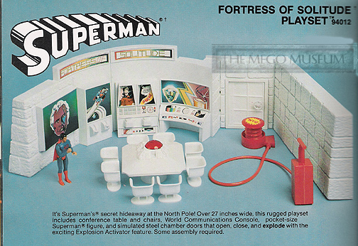 unproduced Fortress of Solitude