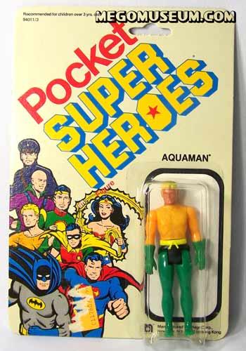 Mego Pocket Hero Aquaman