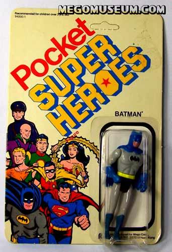 Mego Pocket Hero Batman