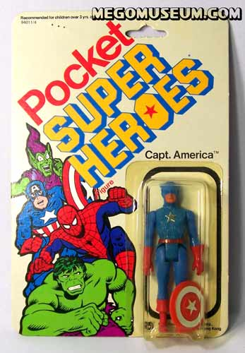 Mego Pocket Hero Captain America