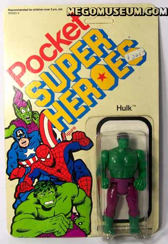 Mego Pocket Hero Hulk