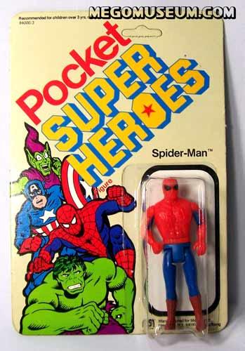 Mego Pocket Hero Spiderman