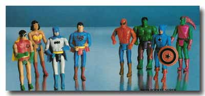 Mego Pocket Superheroes
