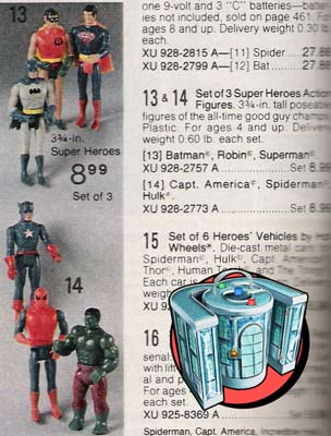 mego pocket super heroes