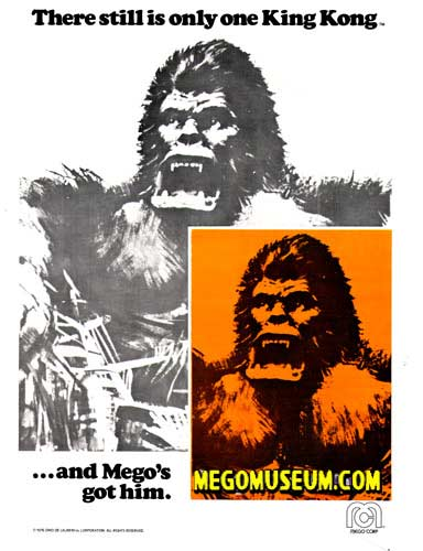 The Mego Museum King Kong Gallery