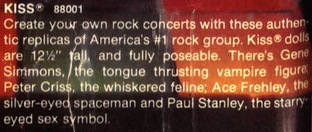 Image of Kiss Dolls catalog description