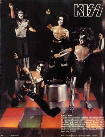 Catalog image of Kiss Dolls