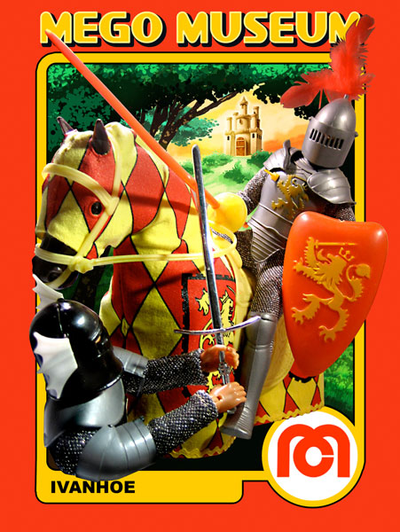 Mego Knights Ivanhoe Figure