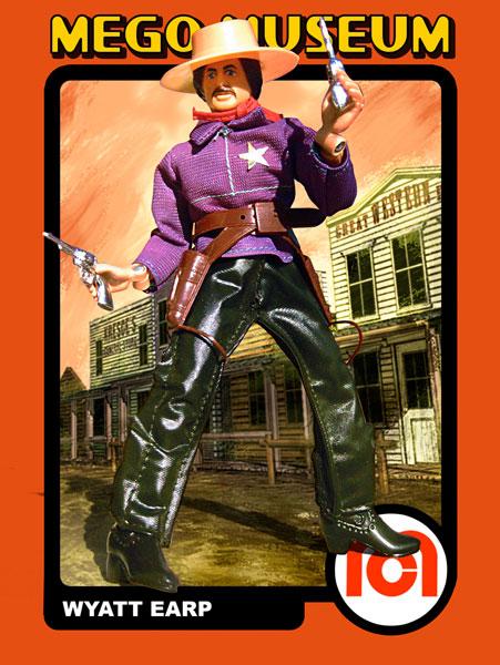 Mego Wyatt Earp Figure