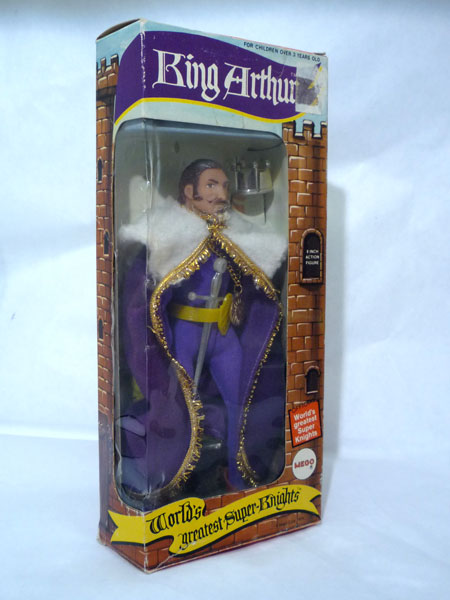 Mego Launcelot Window Box
