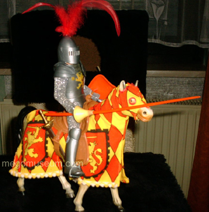 German Knights Horse by Mego