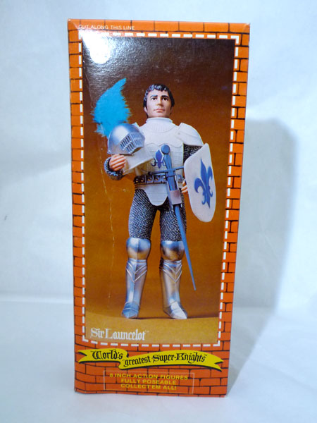Mego Launcelot Box back