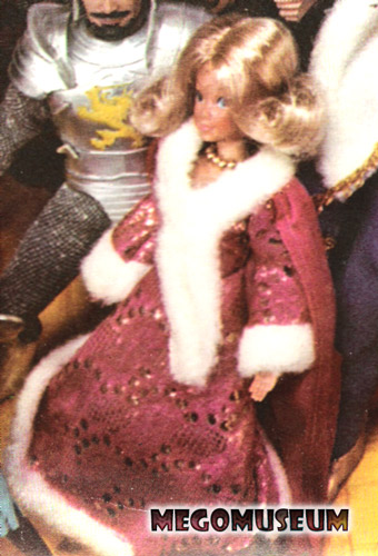 Mego Guenivere was not produced although was featured in the 1975 Mego catalog