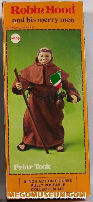 Mego Friar Tuck Box