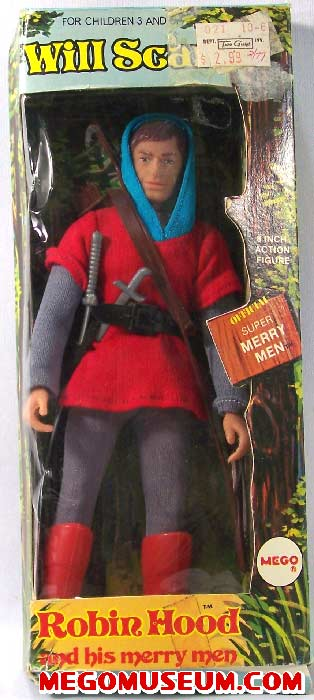 Mego Will Scarlett Box