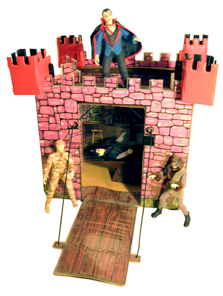 Mego Mad Monsters castle