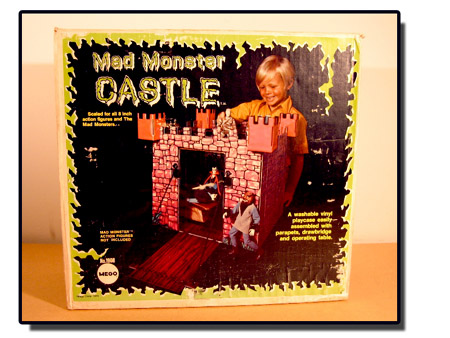 Box for the Mego Mad Monster Castle
